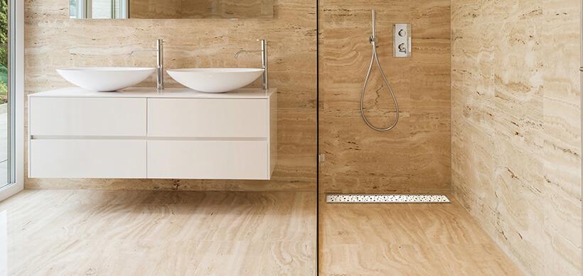 Linear floor drains configurator