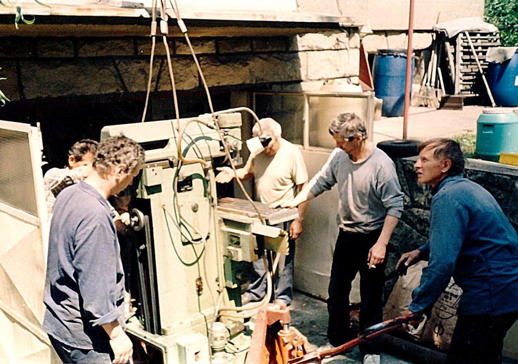 First employee of M.CH. – toolmaker