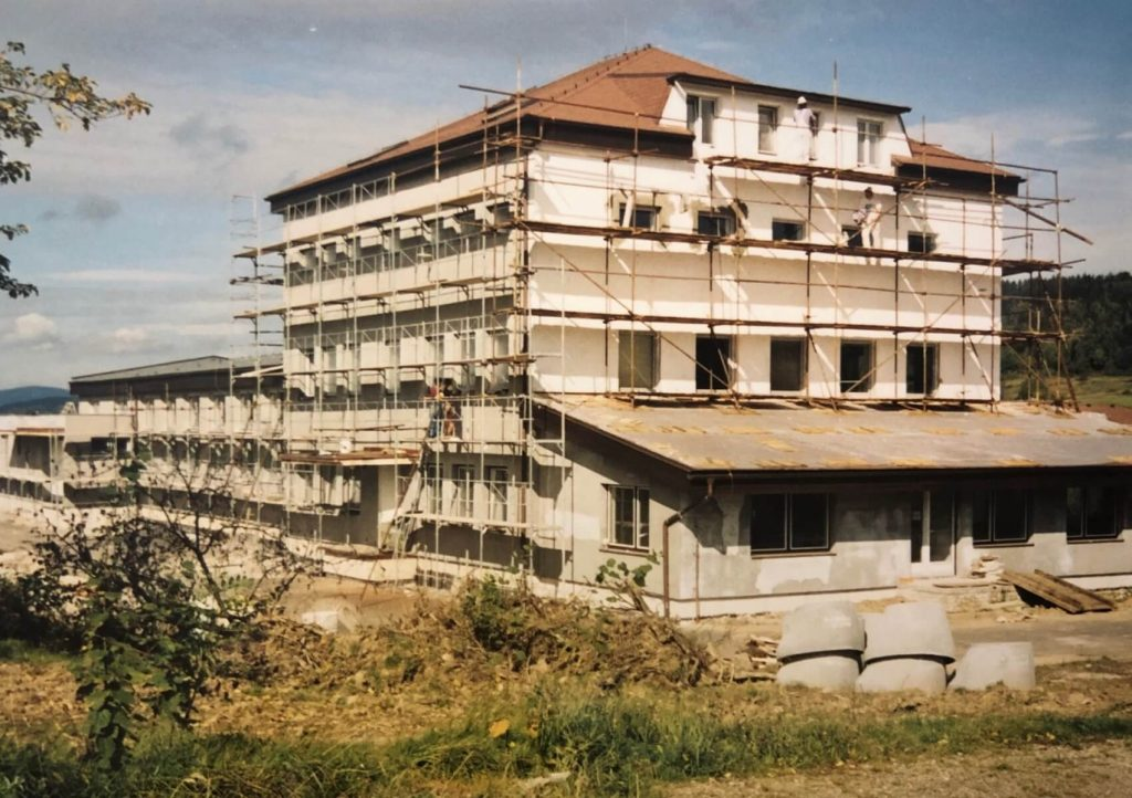 Renovation of former bakery building begins