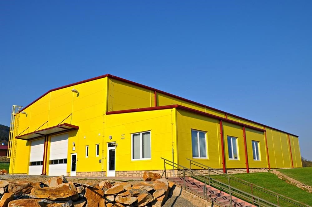 Construction of main warehouse II