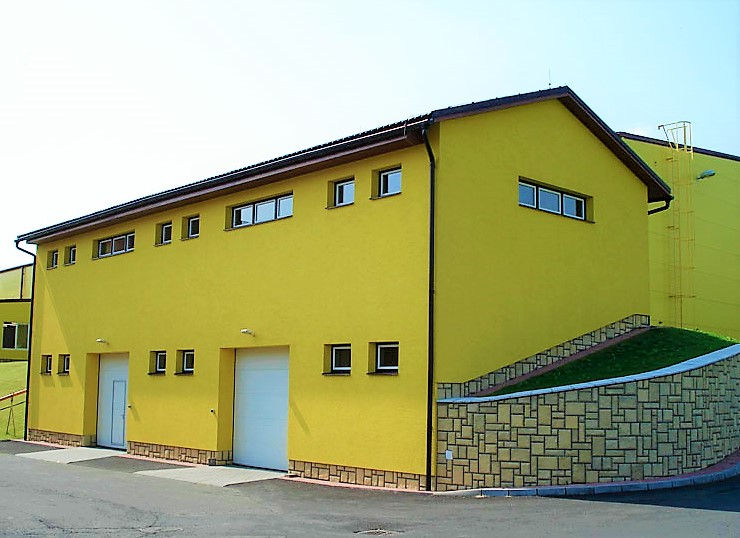 Construction of two-storey input materials warehouse I