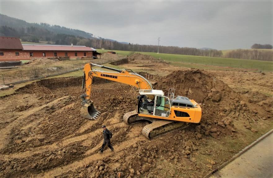 Construction of warehouse III